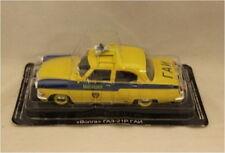 Modèles de Russie, CX 4237 russe trafic voiture de police jaune, échelle 1/43, new in box