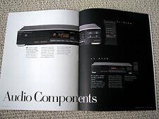 Sharp 1989 home/portable/car audio full line brochure