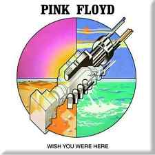 """PINK FLOYD Wish You Were Here hand design fridge magnet 3"""" square metal gift"""
