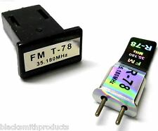 RC Radio Remote Control 35 MHZ 35.180 FM Crystal 35MHZ Single Conversion