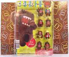 """NHK DOMO DISPLAY 8 Figures Figurines Set 1"""" Cell Phone Zipper Pull Charms Favors"""