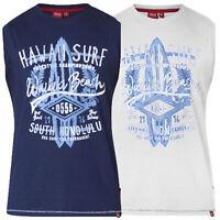 Mens Vest D555 Duke Big King Size Hawaii Surf Beach Sports Sleeveless ALOHA New