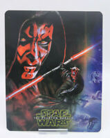 STAR WARS 1 THE PHANTOM MENACE - 3D Lenticular Magnet Cover FOR bluray steelbook