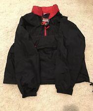 Vintage 1998 Marlboro Windbreaker And Pants Red Black Men's Xl Nwt