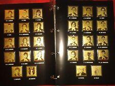 Milan da Record 17' scudetto raccolta francobolli lamine oro 24k compl. gazzetta