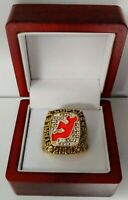 Scott Stevens - 2000 New Jersey Devils Stanley Cup Hockey Ring WITH Wooden Box