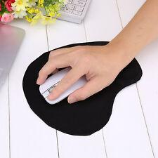 Mousepad Mauspad mit Silikon Gel Handauflage Auflage ergonomisches Maus-Pad