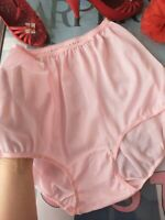 1950's BE-FREE vintage SHEER PINK acetate panties - 2XL size 9 OLD STOCK
