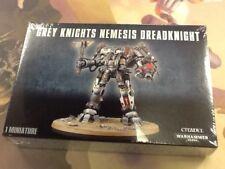40K Warhammer Grey Knights Nemesis Dreadknight NIB Sealed