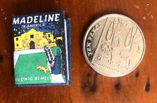 Miniature Madeleine America (1:12) Readable Bemelmans 48 pg Dollhouse Mini Book