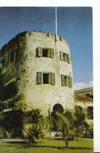 Virgin Islands Postcard - Bluebeard Castle Tower - St Thomas - Ref 11805A