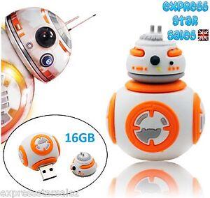 ✷ Star Wars BB-8 16GB USB Flash Drive ✷ Memory Stick ✷ Pendrive