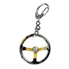 Rennwagen Lenkrad Zink-legierung Mini Keychain Schlüsselring 1 Schlüsselanh