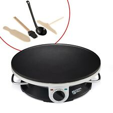 Professional Electric Crepe Maker Pancake Pan Griddle Non-Stick Cooking Plate
