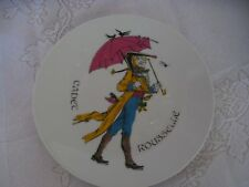 Cadet Rousselle - rare plate - made in France