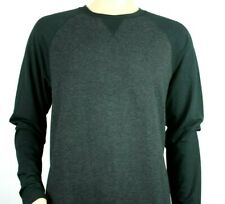 Orvis Classic Collection Mens Charcoal Soft Long Sleeve Crew Neck Shirt Sz Large