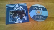 CD Pop Titan - Corazon (2 Song) Promo VIRGIN TOMBOLA cb