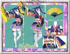 Japan Anime Love Live! Film Version Sonoda UmiCosplay Costume Deluxe Set