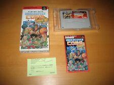 Undercover Cops Original Super Famicom Game Nintendo Complete