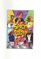 SPACE COLONY - APPLE MAC MACINTOSH SIM GAME - SIMS IN SPACE - NEW & SEALED - DW