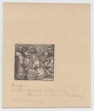 Holzschnitt woodcut 16. Jahrhundert evtl. Hans Weiditz