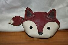 RELIC Fox Purse Zipper Change Purse Coin Bag Excellent Condition