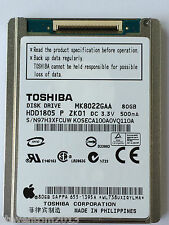 Toshiba MK8022GAA 80GB Hard Drive HDD Replacement For Apple iPod Classic 6th Gen