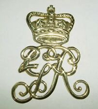 British Cyper Brass Badge