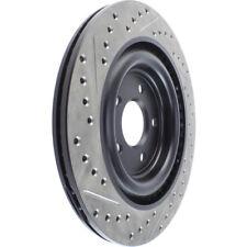 StopTech Sport Drilled/Slotted Disc fits 2006-2009 Jaguar Vanden Plas,XJ8,XJR S-