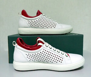 New Women`s ECCO Golf Casual Hybrid Lace Shoes 12206355602