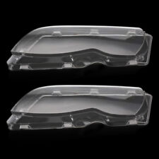 2x Headlight Glass Lens Lamp Cover For BMW E46 3 Series 320i 325i 330i 2002-2005