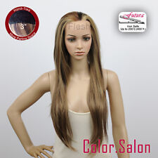 "3"" Chair Lace Front Full Wigs Synthétique Perruque Super Long 96L(3)#6/12/24F"