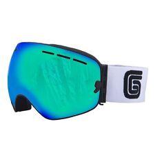 Grayne Canyon Whiteout Goggle w/Icefall Anti-Fog Lens and Bonus Night Lens!