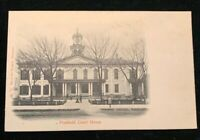 Freehold NJ Court House Pre-1907 Postcard Mint Unposted