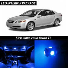 2004-2008 Acura TL Blue Interior LED Lights Package Kit