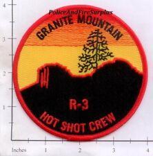 Arizona - Granite Mountain Hot Shot Crew R3 AZ Fire Dept Patch