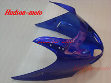 Front Upper Cowl Nose Fairing For Honda CBR1100XX Blackbird 1997-2007 Blue