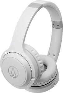 Audio-Technica ATH-S200BTWH Bluetooth Wireless On-Ear Headphones White