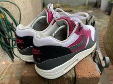 Nike Air Max 1 Essential Gris, magenta brillante, Negro UK 9 (537383-105)