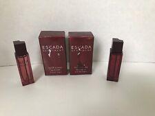 Escada Sentiment by Escada Men miniature 0.17 oz set of 2 Made in France travel