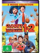Cloudy with a Chance of Meatballs 1 & 2 DVD NEW R4 *2 Movie Collection*