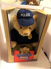 Police Teddy Bear American Heroes First Edition Heads & Tales by GUND Toy