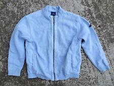 Gilet PETIT SAINT-JAMES bleu ciel marin coton 8 ans enfant