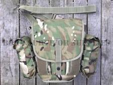 BRITISH ARMY RESPIRATOR BAG MTP CAMO - Satchel Haversack GSR Gas Mask Field Case
