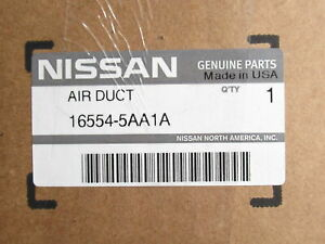 Genuine OEM Nissan 16554-5AA1A Engine Air Intake Duct Assembly 2015-2020 Murano
