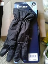 "mens ""Sleek Heat"" ISOTONER gloves. ""Warmth Without Bulk!"" Size L/XL , BLACK"