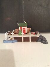 "Dept. 56: Set Of (2) 1998 ""The Emily Louise"" Retired ~New England Village Series"