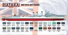 ROYAL NAVY AUTHENTIC COLOURS 17ml for HMS HOOD, WARSPITE, SPIRAEA, ARK ROYAL...