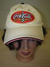 Coca-Cola Racing Family Adjustable Baseball Trucker Cap Hat 100% Cotton