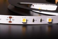 12v smd5050 5m 30w 150 LED 30led/m STRIP STRISCIA BIANCO NEUTRO 4500k B9B4